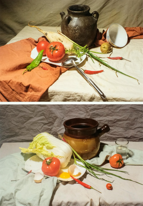蔬菜瓶罐组合类(选修作业)