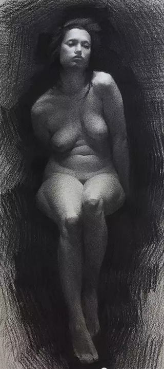 优秀素描人体作品