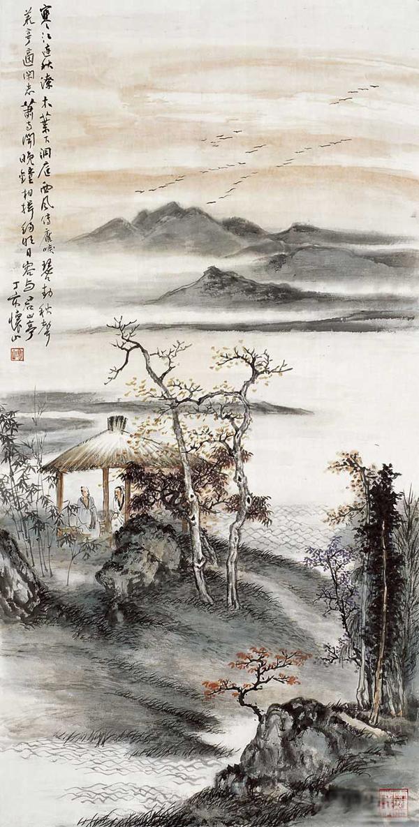 国画大家刘怀山作品欣赏01